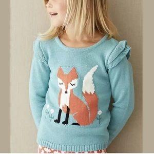 Matilda Jane CLEVER FOX Sweater 2 Toddler 2T Top